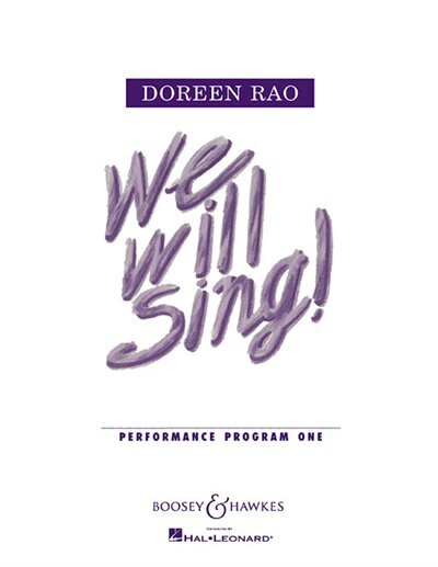 We Will Sing! - Performance Project 1: Economy Pack (10 Copies)