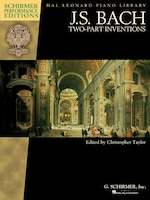 J.s. Bach - Two-part Inventions: Schirmer Performance Editions Book Only