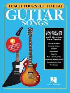 """Teach Yourself to Play Guitar Songs: """"Smoke on the Water"""" & 9 More Hard Rock Classics"""