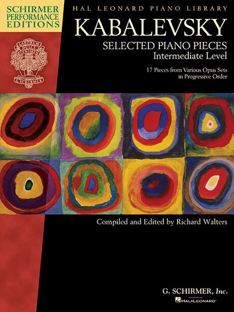 Dmitri Kabalevsky - Selected Piano Pieces: Intermediate Level by Richard Walters