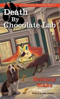 Book Death By Chocolate Lab by Bethany Blake