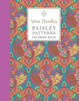 Vera Bradley Paisley Patterns Coloring Book - Exclusive