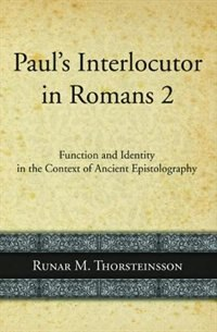 Paul's Interlocutor in Romans 2