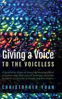 Giving a Voice to the Voiceless by Christopher Yuan