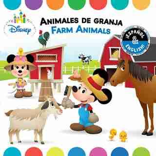 Farm Animals / Animales de granja (English-Spanish) (Disney Baby) by R. J. Cregg
