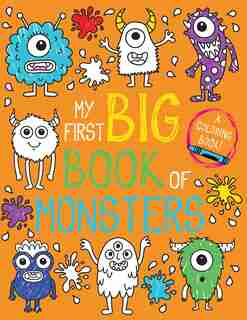 My First Big Book Of Monsters by Little Bee Books
