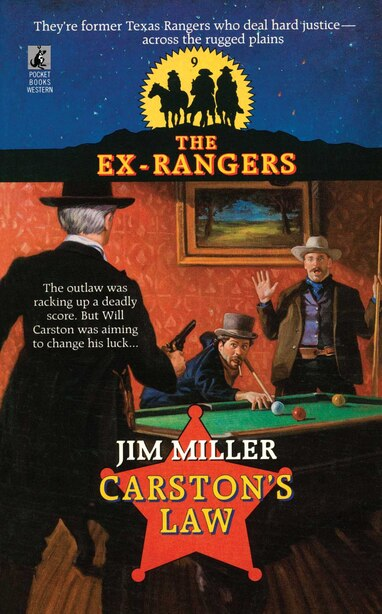 Carston's Law (exrangers 9) by Jim Miller