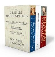Walter Isaacson: The Genius Biographies: Benjamin Franklin, Einstein, and Steve Jobs