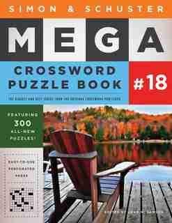 Simon & Schuster Mega Crossword Puzzle Book #18 de John M. Samson
