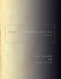 Text Technologies: A History
