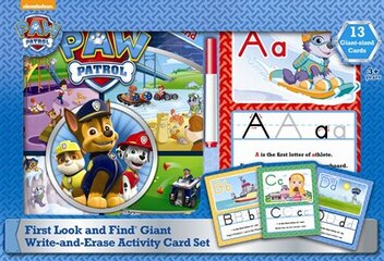 PAW PATROL GIANT ACTIVITY CARDS