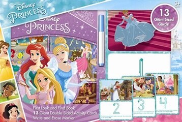 GIANT ACTIVITY CARD DISNEY PRINCESS