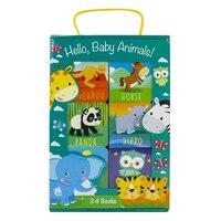 24 BK CARRY CASE HELLO BABY ANIMALS