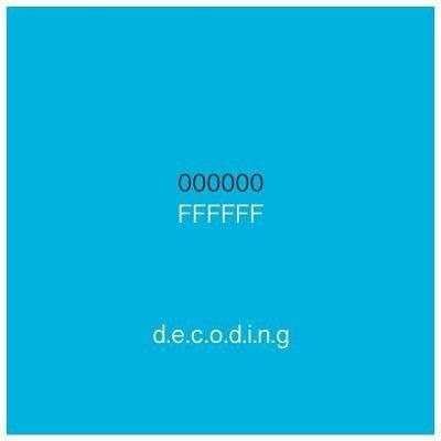 000000FFFFFF Decoding by Lina Farra