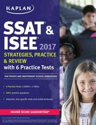 SSAT & ISEE 2017 Strategies, Practice & Review with 6 Practice Tests: For Private and Independent…