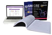 Book GRE Complete 2017: The Ultimate in Comprehensive Self-Study for GRE (Online + Book + Mobile) by Kaplan