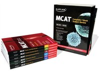 Book MCAT Complete 7-Book Subject Review: Online + Book by Kaplan Test Prep