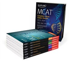 MCAT Complete 7-Book Subject Review 2019-2020: Online + Book + 3 Practice Tests
