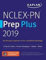 NCLEX-PN Prep Plus 2019: 2 Practice Tests + Proven Strategies + Online + Video