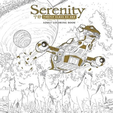 Serenity Adult Coloring Book Book By Fox Paperback