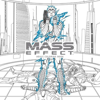 Mass Effect Adult Coloring Book Book By Bioware Paperback