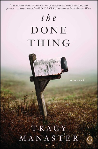 The Done Thing: A Book Club Recommendation! by Tracy Manaster