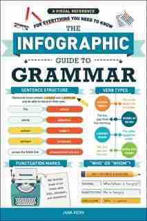 The Infographic Guide To Grammar: A Visual Reference For Everything You Need To Know de Jara Kern