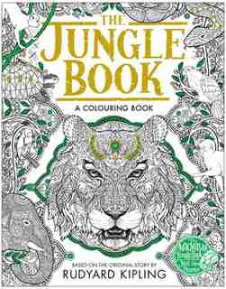 The Macmillan Jungle Book Colouring Book: A Colouring Book by Rudyard Kipling