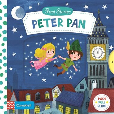 First Stories: Peter Pan by Miriam Bos