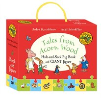 Tales From Acorn Wood: Hide-and-seek Pig Gift Set: Book And Jigsaw Puzzle