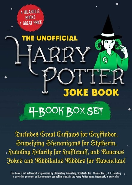 The Unofficial Harry Potter Joke Book 4-Book Box Set: Includes Great Guffaws for Gryffindor, Stupefying Shenanigans for Slytherin, Howling Hilarity for H by Brian Boone