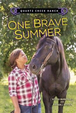 Book One Brave Summer (paperback) by Amber J. Keyser