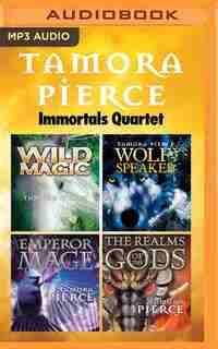 Tamora Pierce - Immortals Quartet: Wild Magic, Wolf-Speaker, Emperor Mage, The Realms of the Gods by Tamora Pierce