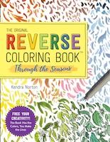 The Reverse Coloring Book: Seasons