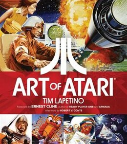 Book Art Of Atari by Tim Lapetino