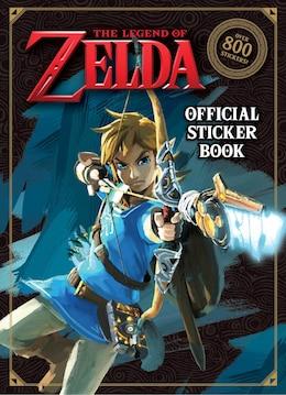 Book The Legend Of Zelda Official Sticker Book (nintendo) by Courtney Carbone