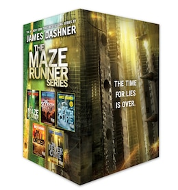 Book The Maze Runner Series Complete Collection Boxed Set (5-book) by James Dashner