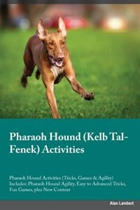 Pharaoh Hound Kelb Tal-Fenek Activities Pharaoh Hound Activities (Tricks, Games & Agility) Includes…