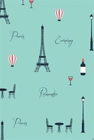 Paris Notebook & Journal. Productivity Work Planner & Idea Notepad: Brainstorm Thoughts, Self…