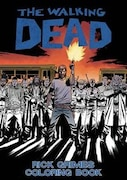 Book The Walking Dead: Rick Grimes Adult Coloring Book by Robert Kirkman