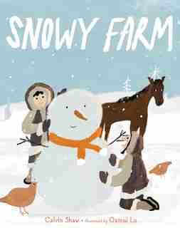 Snowy Farm by Calvin Shaw