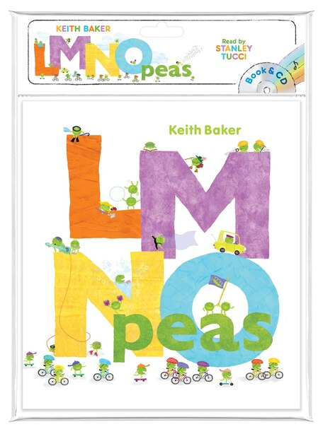Lmno Peas: Book & Cd by Keith Baker