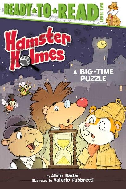 Hamster Holmes, A Big-Time Puzzle by Albin Sadar