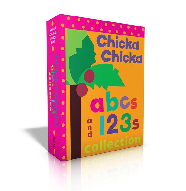 Chicka Chicka ABCs and 123s Collection: Chicka Chicka ABC; Chicka Chicka 1, 2, 3; Words by Bill Martin Jr