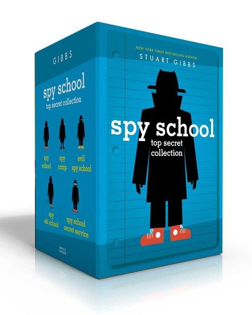 Spy School Top Secret Collection: Spy School; Spy Camp; Evil Spy School; Spy Ski School; Spy School Secret Service by Stuart Gibbs