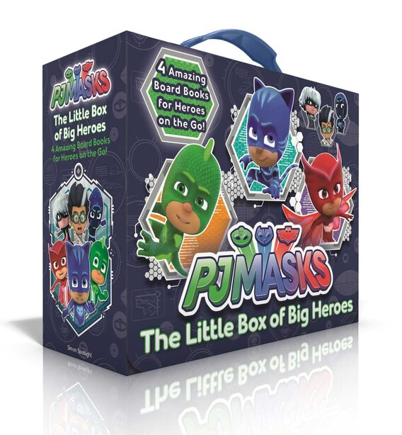 The Little Box of Big Heroes: PJ Masks Save the Library; Hero School; Super Cat Speed; Race to the Moon! by Various
