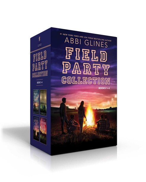 Field Party Collection Books 1-4: Until Friday Night; Under the Lights; After the Game; Losing the Field by Abbi Glines