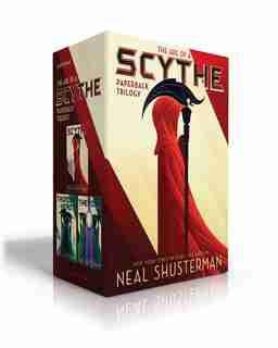 The Arc Of A Scythe Paperback Trilogy: Scythe; Thunderhead; The Toll by Neal Shusterman
