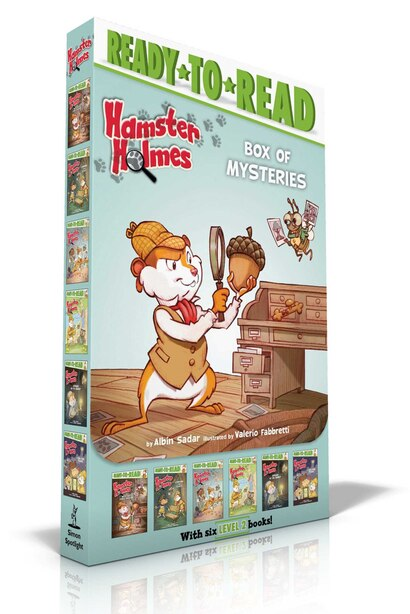Hamster Holmes Box Of Mysteries: Hamster Holmes, A Mystery Comes Knocking; Hamster Holmes, Combing For Clues; Hamster Holmes, On The by Albin Sadar