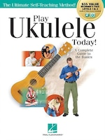 Play Ukulele Today! All-in-one Beginner's Pack: Includes Book 1, Book 2, Audio & Video